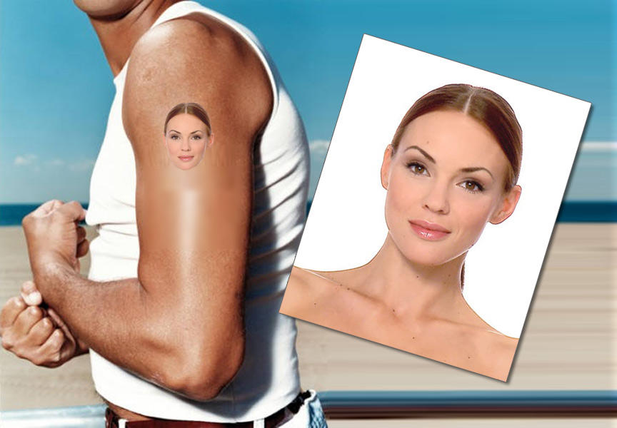 Your Photo Image as Temporary Tattoos