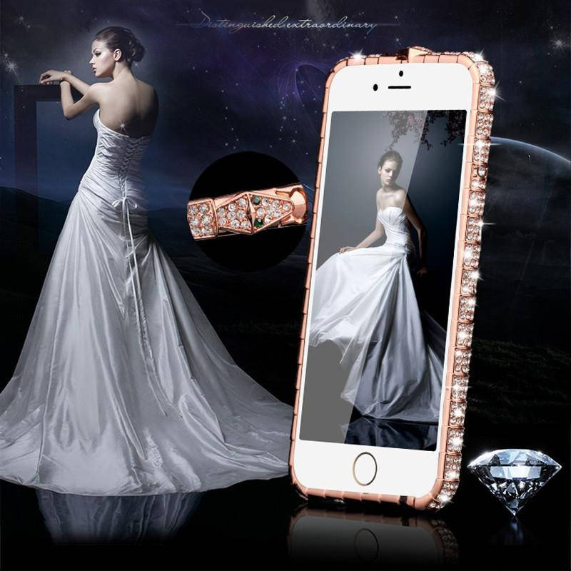 Luxury High End Glitter Bumper Shiny Frame Bling for iPhone