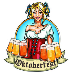 Oktoberfest temporary tattoos