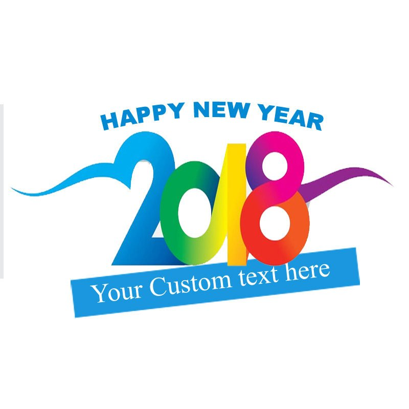New years custom temporary tattoos