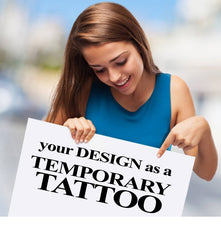 Custom Fake Tattoos