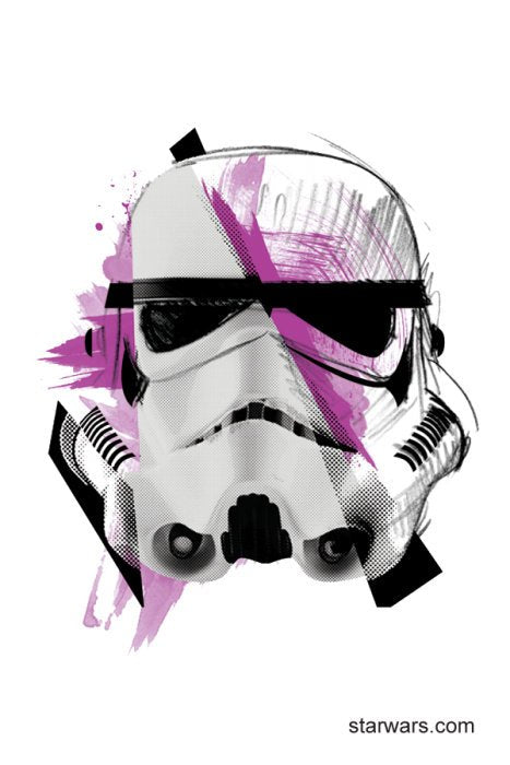 Fake Tattoo Storm trooper Star Wars