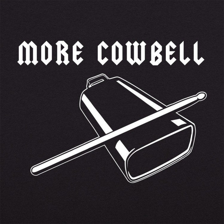 SNL Shirt More CowBell