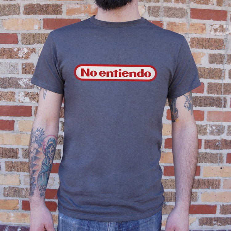Guy Shirt No Entiendo Nintendo