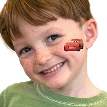Fake Tattoo Lightning McQueen