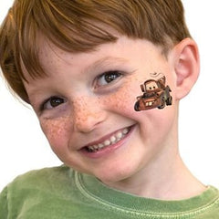 Temporary Tattoo Mater Cars Disney