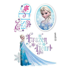 Elsa Frozen Fake Tattoo