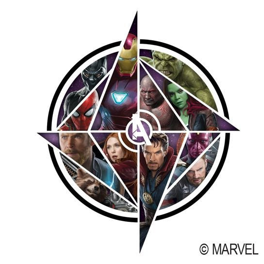 Infinity War Fake Tattoo