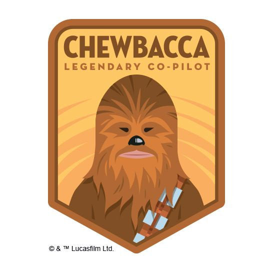Chewbacca Fake Tattoo