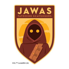 Fake Tattoo Jawas Star Wars