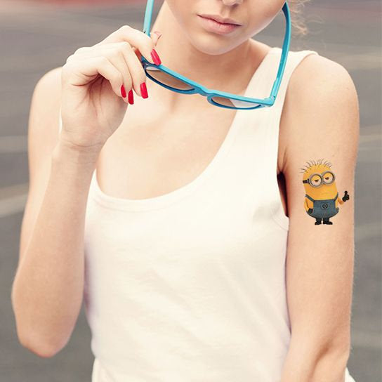 Phil Minion Temporary Tattoo