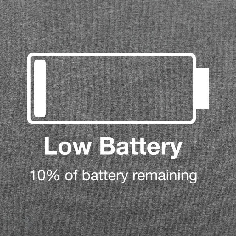 Low Battery funny Shirt