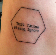 Test Tattoo Please Ignore