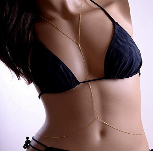 Sexy Belly Harness Body Chain