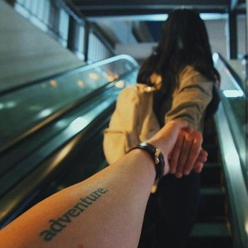Adventure Temporary Tattoo