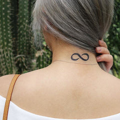 Fake Tattoo Infinity Symbol