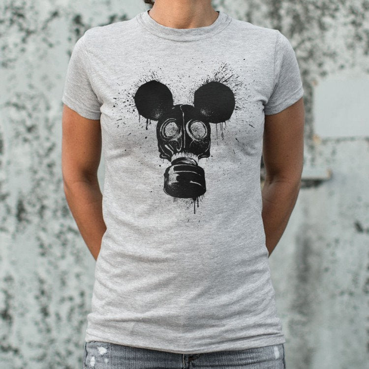 Guy Girl Shirt Mouse Mask