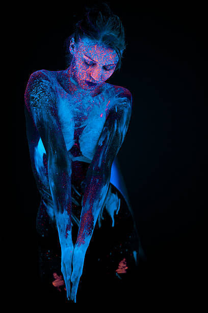 Fluorescent Glow Body Paint Neon