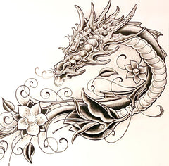 dragon tattoo artwork