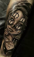 tattoo design girl face