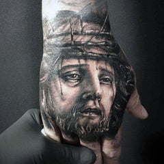Jesus Christ Tattoo Design Art