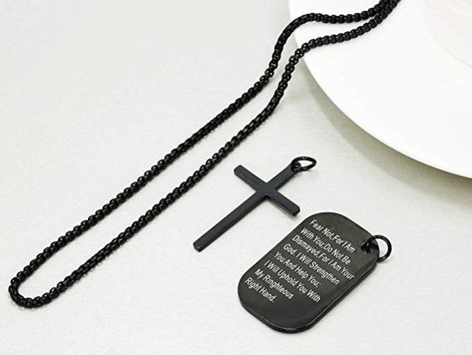 Dog Tag Cross
