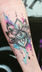 colored tattoo design