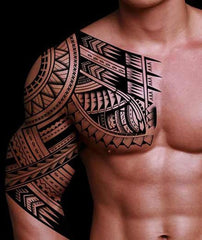 the rock tattoo design