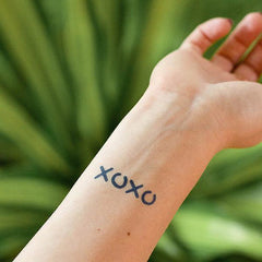 XOXO Temporary Tattoos