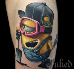 Minion tattoos