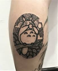 cartoon simple tattoo