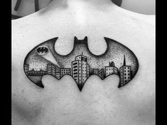 batman tattoo design