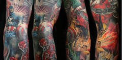 arm sleeve tatt