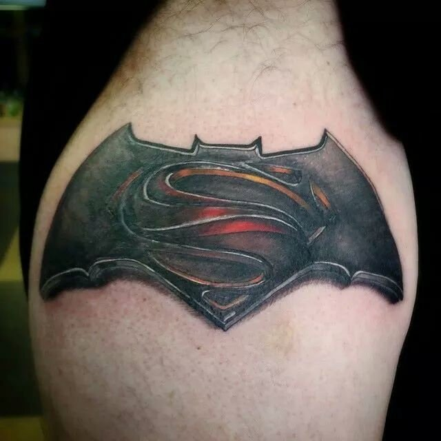 symbol batman tattoo