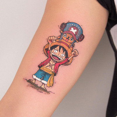 cartoon tattoo art