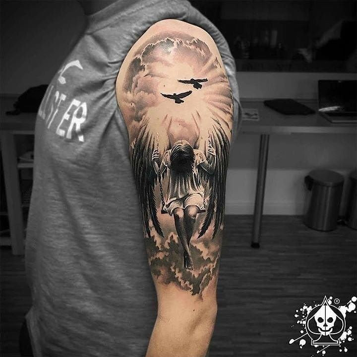 arm sleeve tattoo art