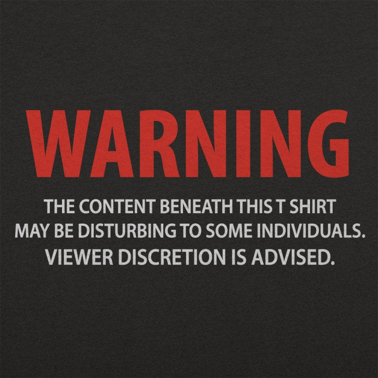 Buy Shirt Warning Viewer Discretion