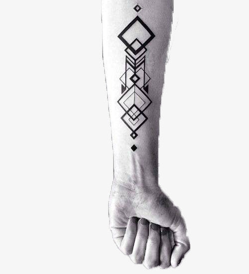 vector arm abstract design collage tattoo art