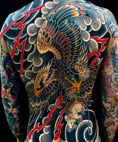 full body color tattoo