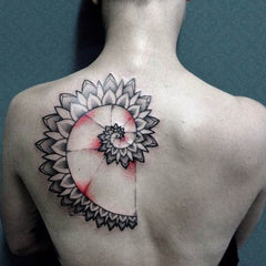 Spiral Tattoo Design Art