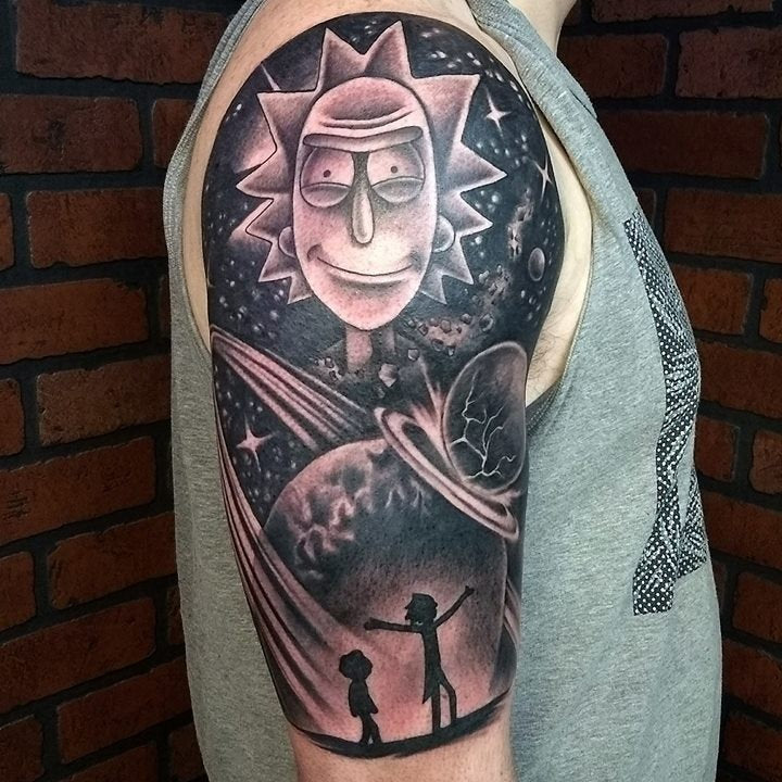 Rick Morty tatt