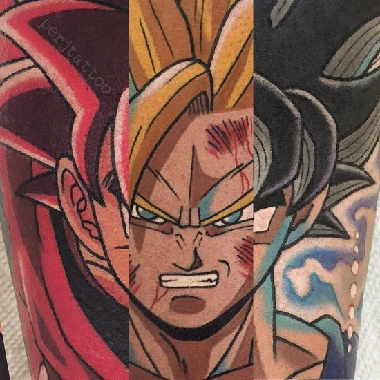 Dragon Ball Z Tattoo art