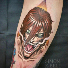 anime villian tattoo