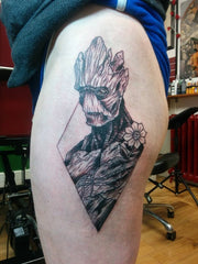 Groot tattoo design