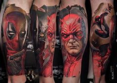 Marvel Comics tattoo