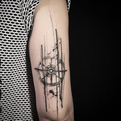 arm abstract design tattoo art