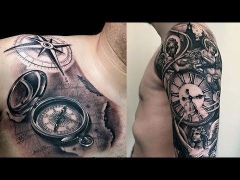 clock armband tattoo