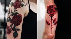 Rose tattoo design art