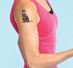 my pet photo as temporary tattoo