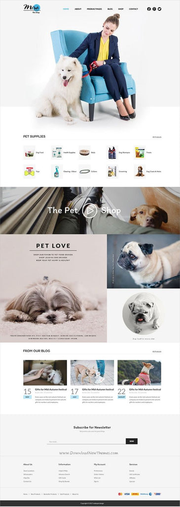 pets-website-design